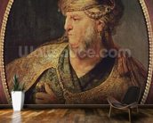 Portrait of a Man in Oriental Costume, 1633 (oil on panel) mural wallpaper kitchen preview
