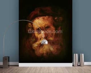 A Rabbi (oil on canvas) wallpaper mural