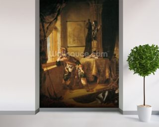 A Warrior in Thought Wall Mural Wall Murals Wallpaper