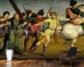 The Procession to Calvary, c.1504-05 (oil on wood) wall mural kitchen preview