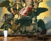 Vision of Ezekiel, c.1518 (oil on panel) mural wallpaper kitchen preview