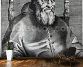 Pope Julius II (engraving) wallpaper mural kitchen preview