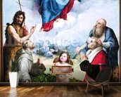 The Foligno Madonna, c.1511-12 (oil) wall mural kitchen preview