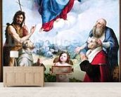 The Foligno Madonna, c.1511-12 (oil) wall mural living room preview