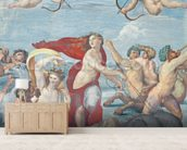 The Triumph of Galatea, 1512-14 (fresco) wallpaper mural living room preview