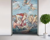 The Triumph of Galatea, 1512-14 (fresco) wallpaper mural in-room view