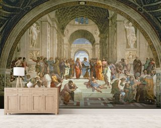 School of Athens Mural Wallpaper Wall Murals Wallpaper
