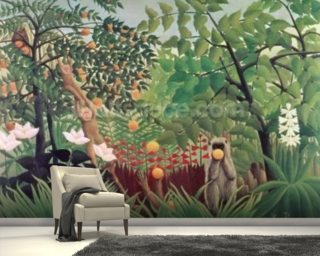 Exotic Landscape Wallpaper Mural Wall Murals Wallpaper