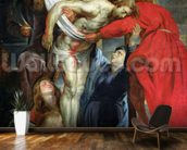 The Descent from the Cross, c.1614-15 (oil on canvas) wall mural kitchen preview