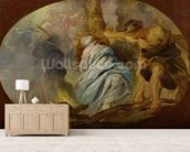 The Martyrdom of St. Lucy, c.1620 (oil on canvas) wall mural living room preview