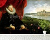 Albert of Habsbourg (1559-1621) Archduke of Austria (oil on canvas) (pair of 197173) mural wallpaper in-room view