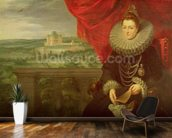 The Infanta Isabella Clara Eugenia (1566-1633) (oil on canvas) (pair of 197174) wall mural kitchen preview