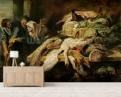 The Recognition of Philopoemen, c.1609 (oil on panel) mural wallpaper living room preview