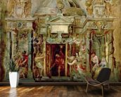 Temple of Janus, 1630s (oil on canvas) wall mural kitchen preview
