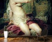 The Death of Dido (oil on canvas) mural wallpaper kitchen preview