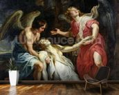 Ecstasy of Mary Magdalene, c.1619-20 (oil on canvas) wall mural kitchen preview
