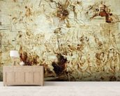 Triumphant Entry of Henri IV (1553-1610) into Paris, c.1627 (oil on panel) wallpaper mural living room preview