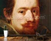 Portrait of Peeter Snayers, c.1626 (oil on canvas) wall mural kitchen preview