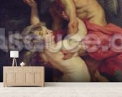 The Medici Cycle: The Triumph of Truth, 1621-25 (oil on canvas) wallpaper mural living room preview