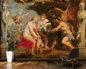 Thetis receiving Achilles armour from Vulcan; mural wallpaper kitchen preview