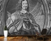 Ferdinand III, Holy Roman Emperor, engraved by Christoffel Jegher, c.1631-33 (engraving) mural wallpaper kitchen preview