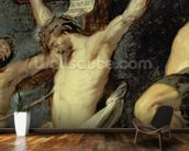 Christ Between the Two Thieves, 1620 (oil on panel) (detail of 154020) wall mural kitchen preview