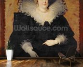 Marie de Medici, 1622 (oil on canvas) wallpaper mural kitchen preview