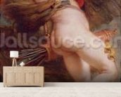 Prometheus, c.1636 (oil on canvas) mural wallpaper living room preview