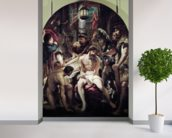 The Crowning with Thorns, 1602 (oil on panel) wall mural in-room view