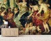 The Felicity of the Regency, 1621-25 (oil on canvas) wall mural living room preview