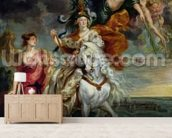 The Medici Cycle: The Triumph of Juliers, 1st September 1610, 1622-25 (oil on canvas) mural wallpaper living room preview