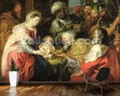 Adoration of the Magi, 1626-29 (oil canvas) wall mural kitchen preview