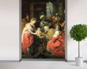 Adoration of the Magi, 1626-29 (oil canvas) wall mural in-room view