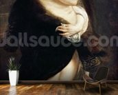 Helena Fourment in a Fur Wrap, 1636-38 wall mural kitchen preview