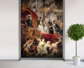 The Arrival of Marie de Medici in Marseilles, 3rd November 1600, 1621-25 (oil on canvas) wallpaper mural in-room view
