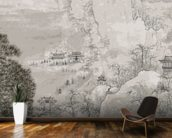 Chinese Landscape mural wallpaper kitchen preview