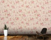 Tapestry Rose Floral wall mural kitchen preview