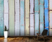 Old Vintage Wood Textured wallpaper mural kitchen preview