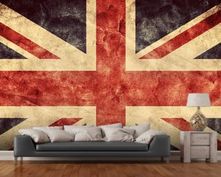 Vintage Union Jack Wall Mural Part 54
