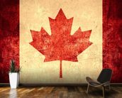 Canadian Flag wallpaper mural kitchen preview