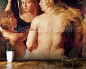 The Toilet of Venus, c.1613 (oil on canvas) wall mural kitchen preview
