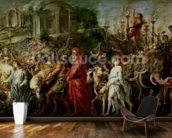 A Roman Triumph, c.1630 (oil on canvas laid down on wood) wall mural kitchen preview