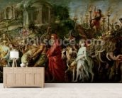 A Roman Triumph, c.1630 (oil on canvas laid down on wood) wall mural living room preview