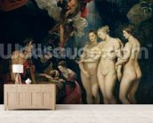The Medici Cycle: Education of Marie de Medici (1573-1642) 1621-25 (oil on canvas) mural wallpaper living room preview