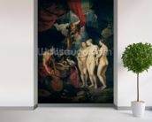 The Medici Cycle: Education of Marie de Medici (1573-1642) 1621-25 (oil on canvas) mural wallpaper in-room view