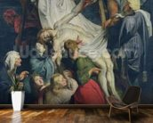 Descent from the Cross, 1617 (oil on canvas) mural wallpaper kitchen preview