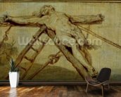 The Raising of the Cross (panel) wallpaper mural kitchen preview