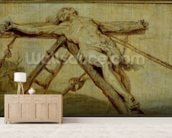 The Raising of the Cross (panel) wallpaper mural living room preview
