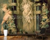 Statue of Ceres, c.1615 (oil on panel) mural wallpaper kitchen preview