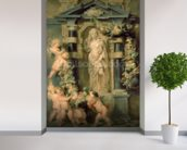 Statue of Ceres, c.1615 (oil on panel) mural wallpaper in-room view